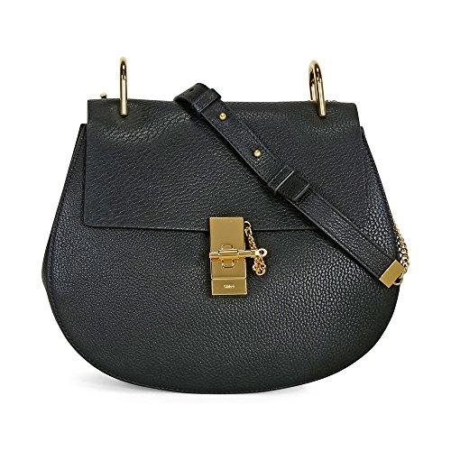 Chloe Drew Medium Crossbody Bag – Black