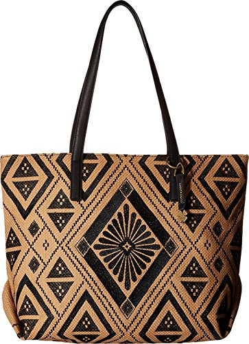 Lucky Brand Cassis Top Zip Tote Black Top-Zip Handbags