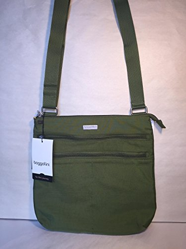Baggallini Large Zip N Go Crossbody Bag Cactus