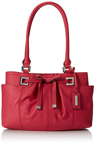 Tignanello All Dressed Up Satchel Handbag (Passion Fruit)