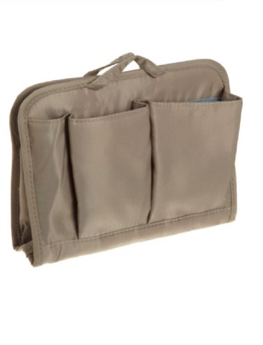 Travelon Safe ID RFID Blocking Classic Purse Organizer / Medium – Warm Grey