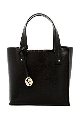 Furla Musa Small Leather Tote, Onyx