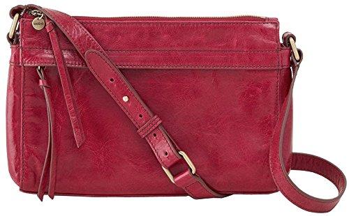 Hobo Handbags Vintage Leather Tobey Crossbody Bag – Red Plum