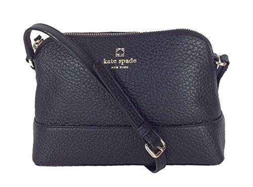 Kate Spade Southport Avenue Hanna Leather Crossbody, Black
