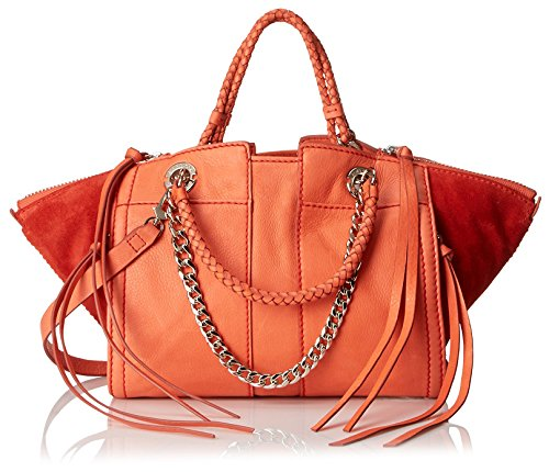 Ramy Brook Women's Camile Mini Satchel, Coral