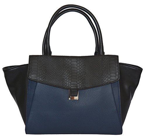 Vince Camuto Lonni Satchel Tote Handbag Purse Bag Handbag