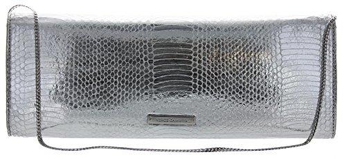 Vince Camuto Women's Jaden Clutch Silver
