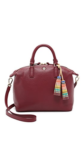 Tory Burch Multi-Color Small Slouchy Satchel in Shiraz