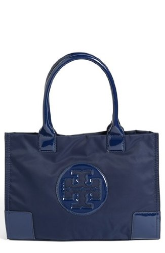 Tory Burch Mini Ella Tote – French Navy