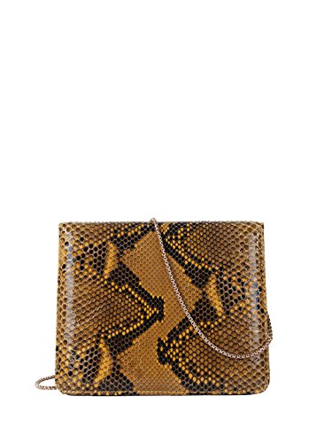 Cashhimi Laurel Genuine Python Shoulder bag