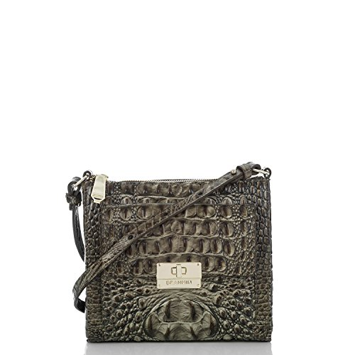 Brahmin Mimosa Forest Melbourne Leather Crossbody