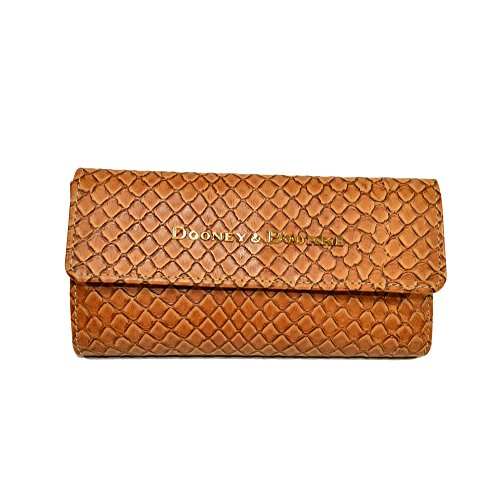 Dooney & Bourke Cordova Embossed Woven Leather Continental Clutch