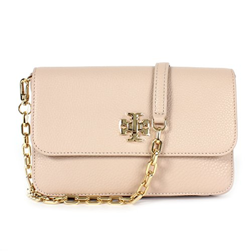 Tory Burch Women Mercer Classic Cross-body Bag Clutch Bag, Light Oak, One Size