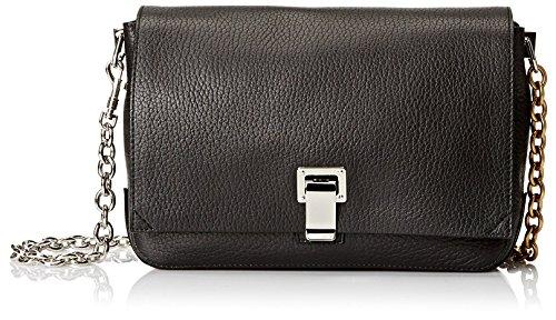Proenza Schouler Women's Borsa Small Courier Bag, Black