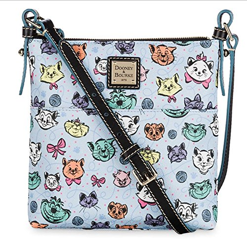 Disney Parks Dooney & Bourke Disney Cats Leather Letter Carrier Bag