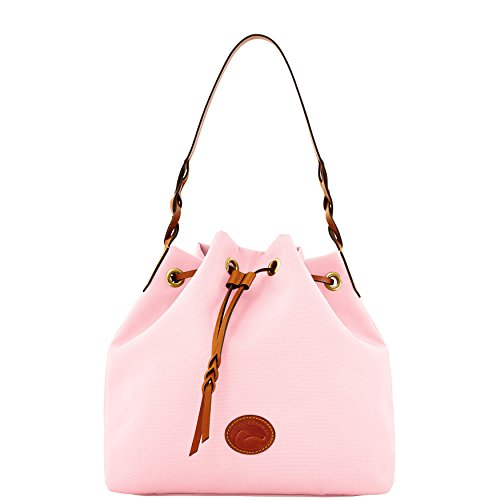 Dooney & Bourke Nylon Drawstring Bag Light Pink