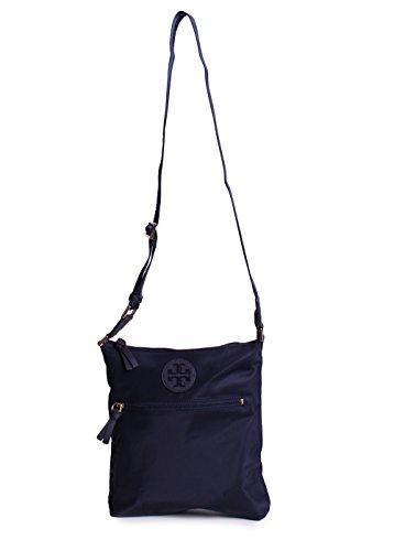 Tory Burch Ella Swing Pack Nylon Crossbody Handbag in Navy