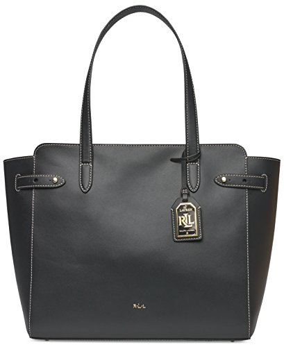 Lauren Ralph Lauren Harper Parker Leather Tote