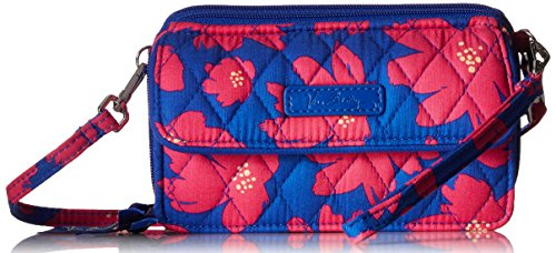 Vera Bradley All in One Crossbody for Iphone 6+ , Art Poppies