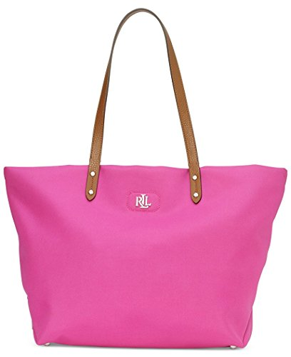 LAUREN Ralph Lauren Women's Bainbridge Tote Raspberry Rose none none