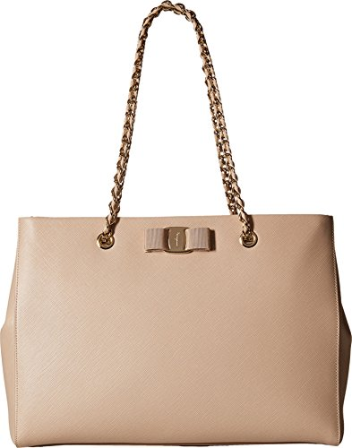 Salvatore Ferragamo Women's Melike 21F561 New Bisque Shoulder Bag