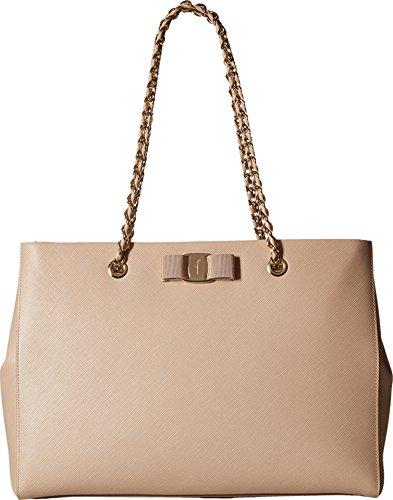 Salvatore Ferragamo Women's Melike 21F561 New Bisque Shoulder Bag