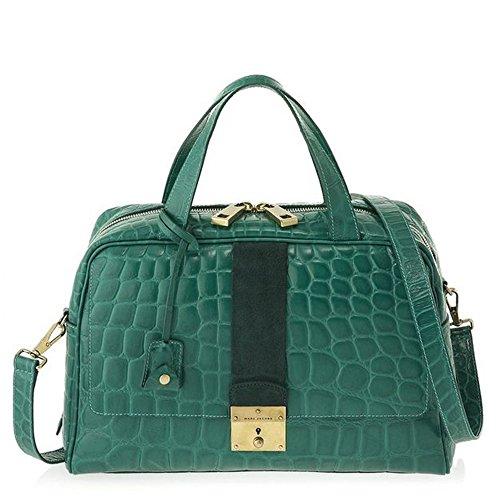 Marc Jacobs Frankie Satchel Bag, Emerald with Antique Gold