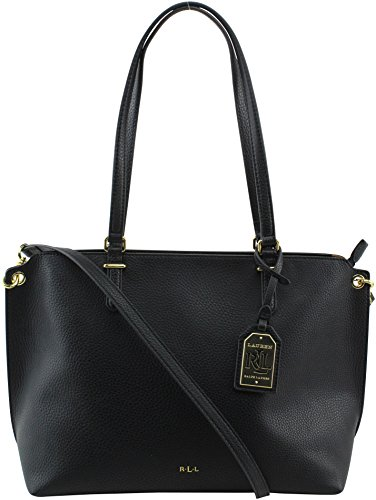 Lauren Ralph Lauren Medium Abby Shopper, Black
