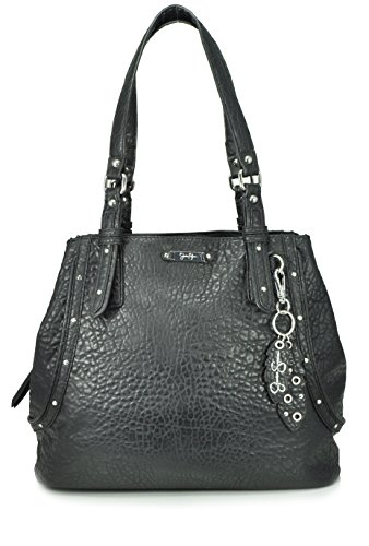 Jessica Simpson Nadine Tote Shoulder Bag, Black