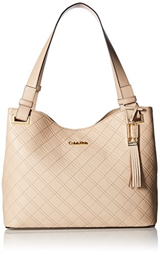Calvin Klein Permanent Pebble Shopper, Wheat