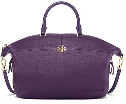 Tory Burch Ivy Slouchy Satchel in Night Shade