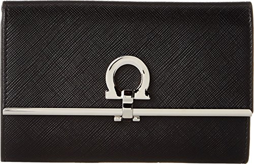 Salvatore Ferragamo Women's 22C115 Nero Clutch