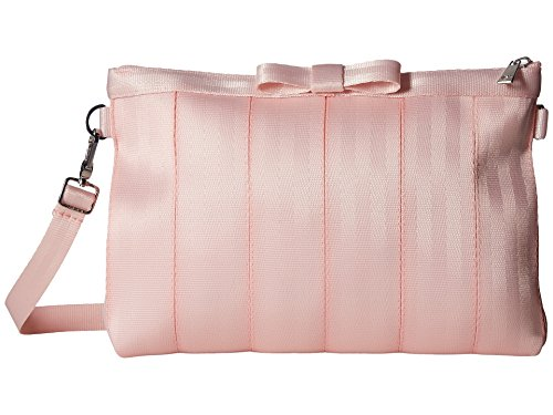 Harveys Seatbelt Bags Bow Clutch, Rose Quartz