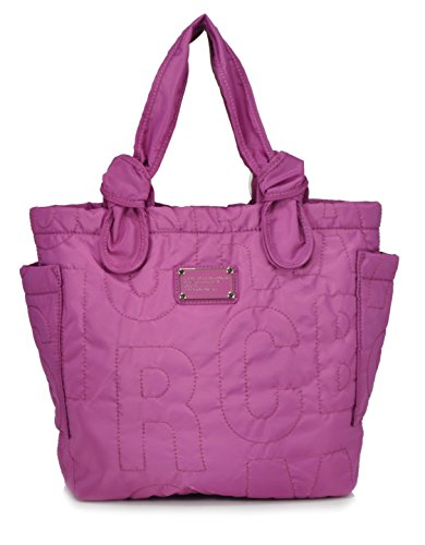 Marc By Marc Jacobs Medium Amethyst Pretty Nylon Lil Tate Shoulder Tote