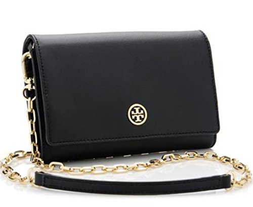 Tory Burch Robinson Chain Wallet Crossbody Bag