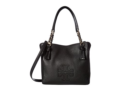Tory Burch Harper Small Satchel – Black