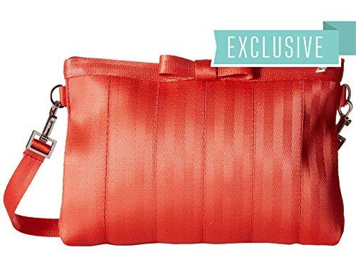 Harveys Seatbelt Bag Bow Clutch Lava Clutch Handbags