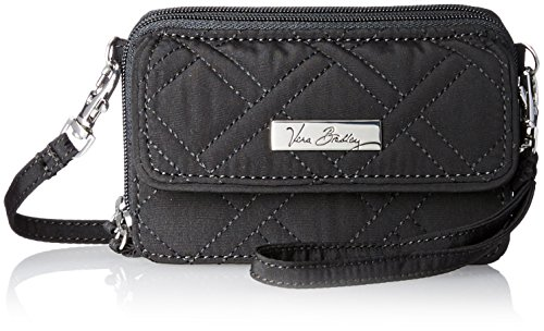 Vera Bradley All in One Crossbody and Wristlet in Classic Black