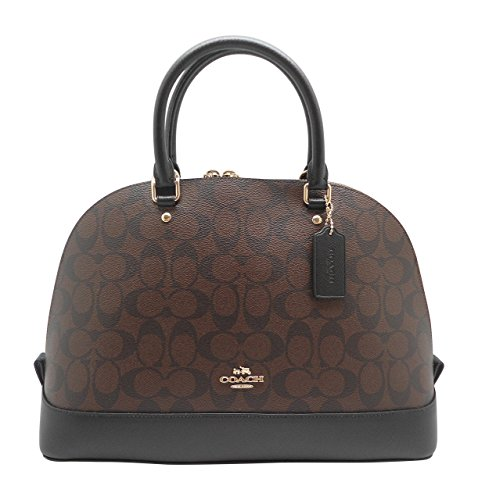 Coach Signature Sierra Satchel – Brown/Black