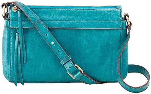 Hobo Handbags Vintage Leather Tobey Crossbody – Teal Green
