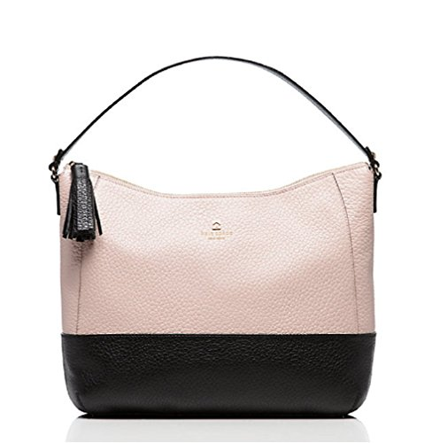 kate spade new york Southport Avenue Cathy Leather Hobo Bag – Pebble/Black