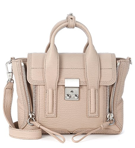 3.1 Phillip Lim Women's 3.1 Phillip Lim Pashli Khaki Leather Mini Satchel Beige