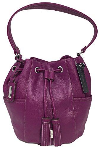 Tignanello It's A Cinch Drawstring Hobo, Purple, A266980
