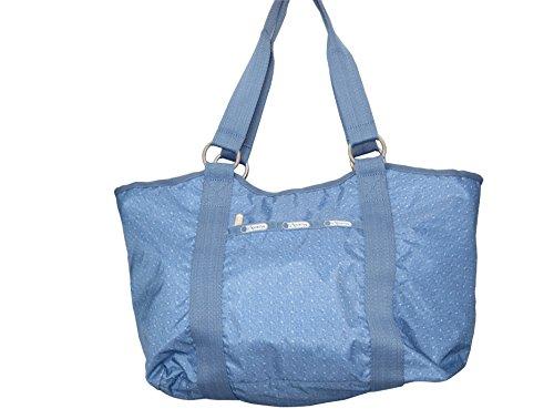 LeSportsac Women's CarryAll Tote Bag Handbag – Denim Pique