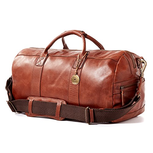 Will Leather Goods Signature Leather Bag Collection Brown Leather Atticus Duffle