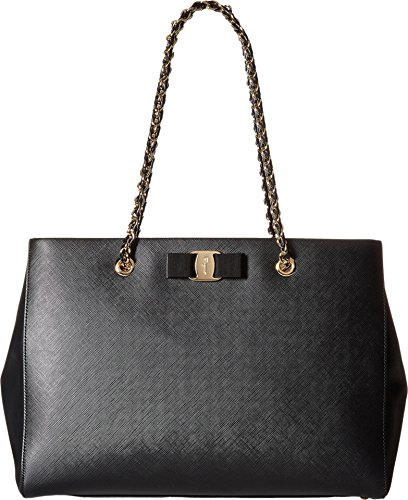Salvatore Ferragamo Women's Melike 21F561 Nero Shoulder Bag