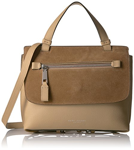 Marc Jacobs Small Waverly Top Handle Handbag, Camel