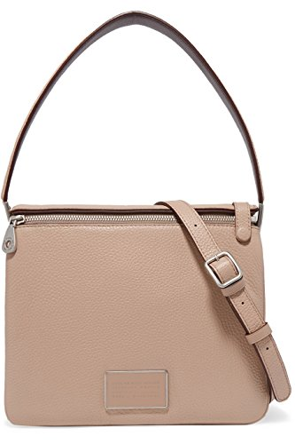 Marc Jacobs Leather Ligero Shoulder Bag in Cameo Nude Multi