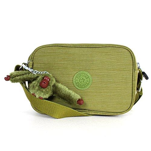 Kipling Dee Shoulder Bag Crossbody Bag Dazzling Moss Green