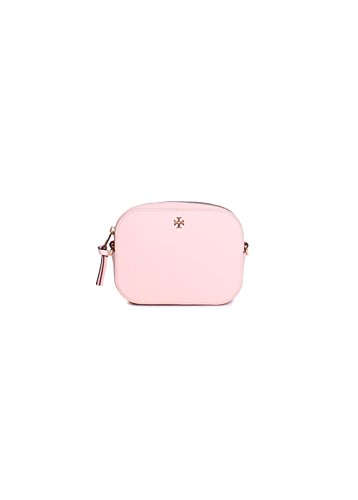 Tory Burch Robinson Round Crossbody in Pale Apricot